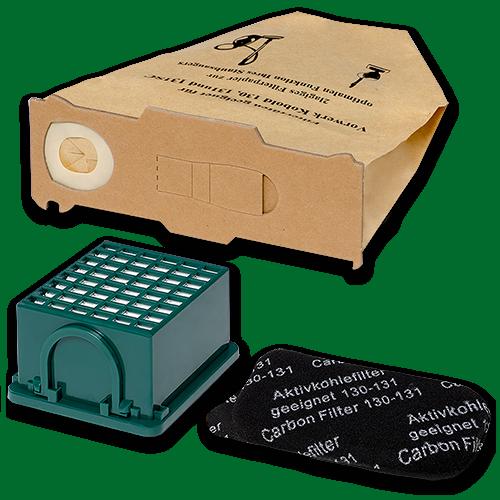 20 Staubsaugerbeutel Filtertüten passend für Vorwerk Kobold 130 131 Filter