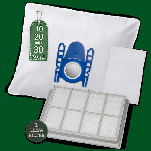10 Staubsaugerbeutel Für SIEMENS VSQ5X1230