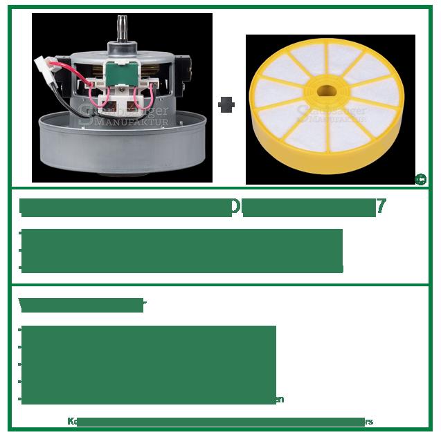 Dyson Original Motor Ydk Yv Dc07 Filter Dc07