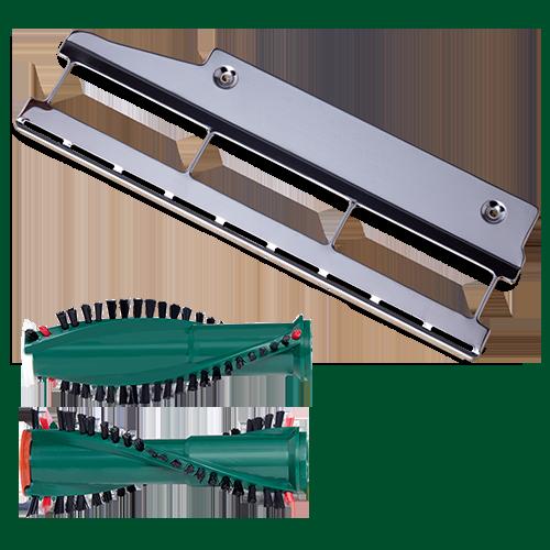 3 Paar Ersatzbürsten geeignet für Vorwerk Kobold 118 119 120 121 122 mit ET 340