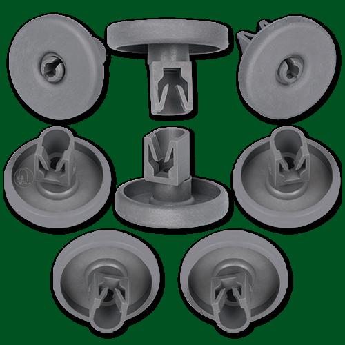 4 Korbrollen Geschirrspüler Spülmaschine Unten Für Tool Siemens Neff