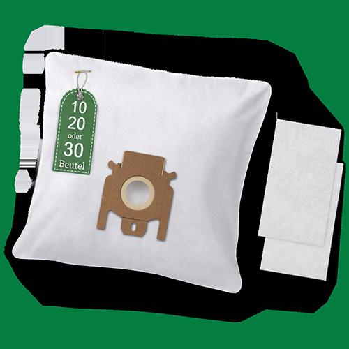 20 sacs pour aspirateur convient pour Miele Complete c3 Excellence Ecoline