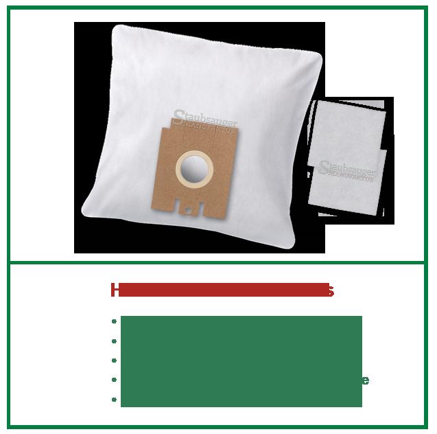 10 staubsaugerbeutel passend f r aeg smart 450 460 470 485 486 487 y typ 204 ebay. Black Bedroom Furniture Sets. Home Design Ideas