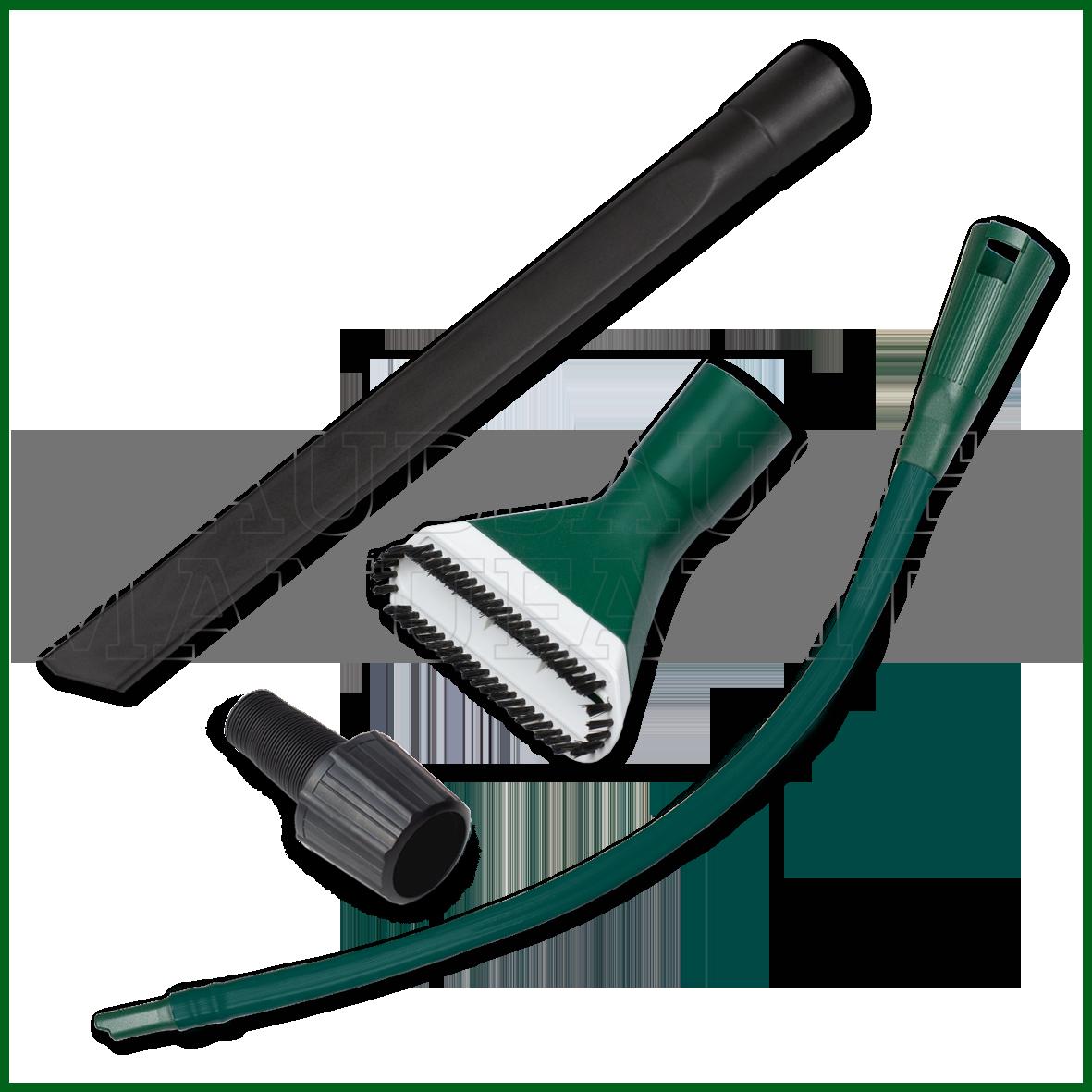 KFZ Düsen Set 3 Teile + Adapter passend für Progress  -> Staubsauger Für Auto
